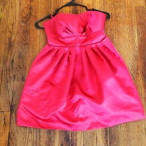 Xhilaration Hot pink party dress